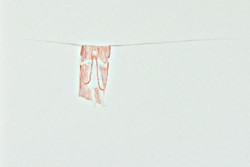 A mulher que vaza - Labor Desenho V (20x30 cm)